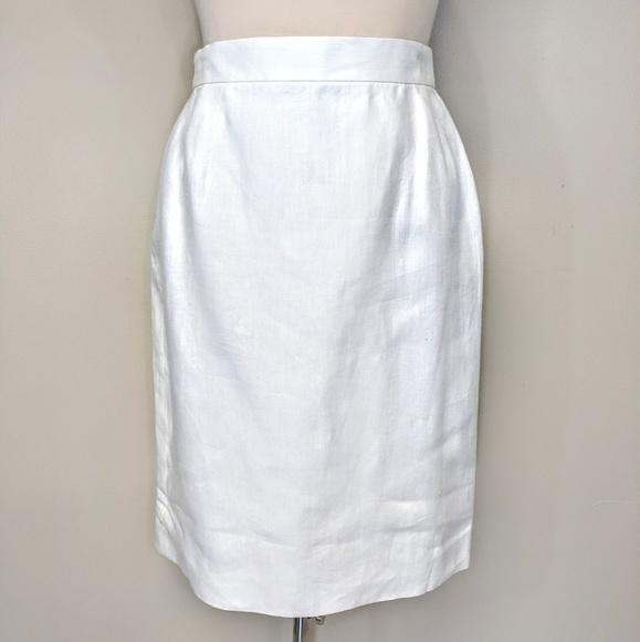 Escada Dresses & Skirts - Escada Linen Pencil Skirt